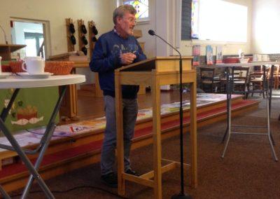 De Walk of Peace werd geopend met toespraken van Harry Mondeel,