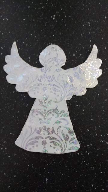 bloemen engel