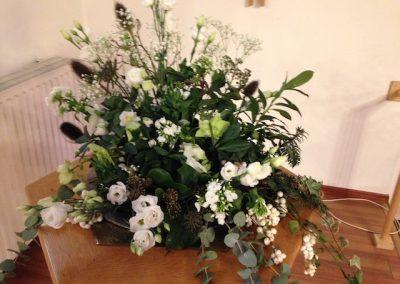 bloemstukken in De Bleek