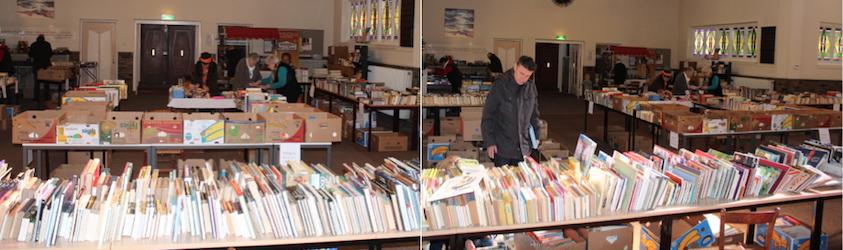 boekenmarkt in De Bleek