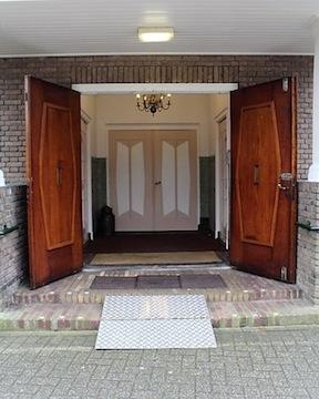 start van de open deur