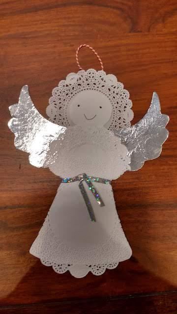 engel in het wit