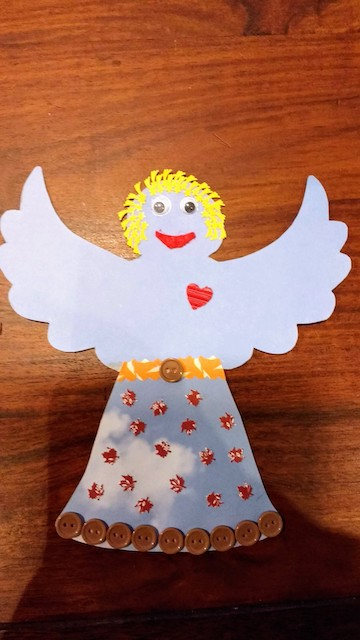 engel vrolijk