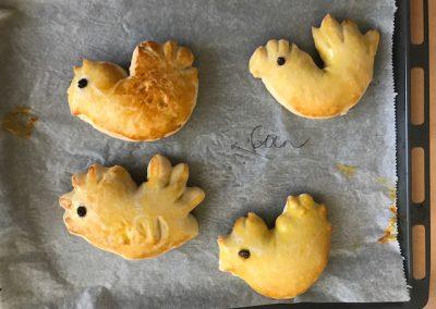 Dan zijn de broodjes klaar