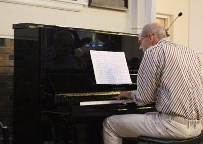 Gosse speelde mooi op orgel en piano