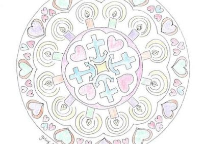 Mandala Bleekvenster - Rianne