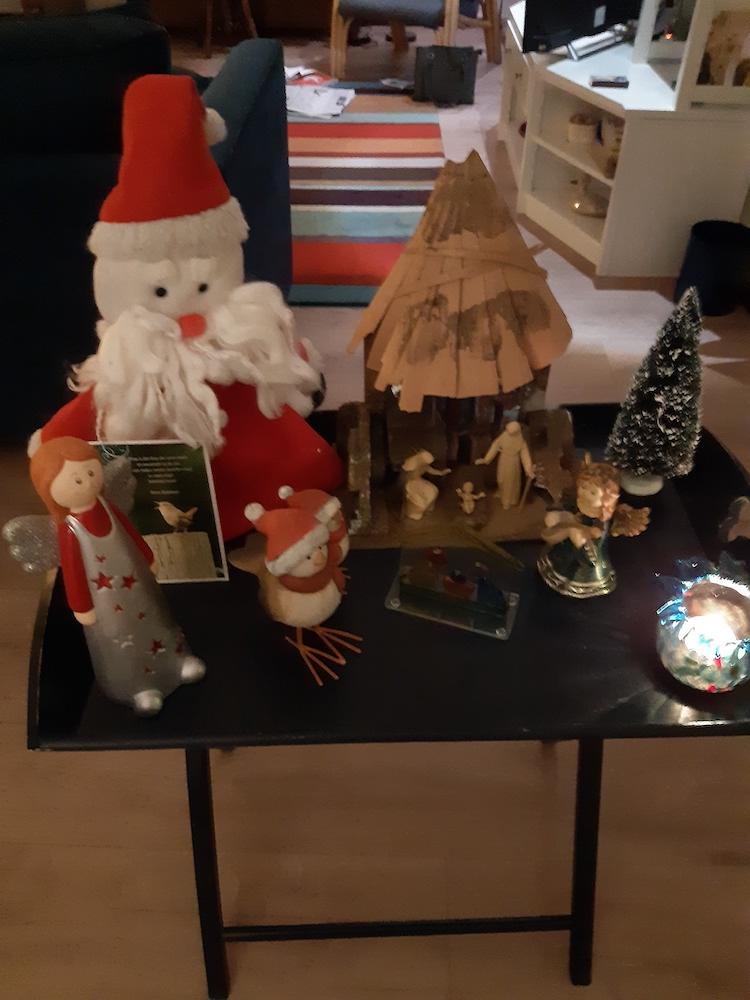 het verhaal van de kerststal van Pauline