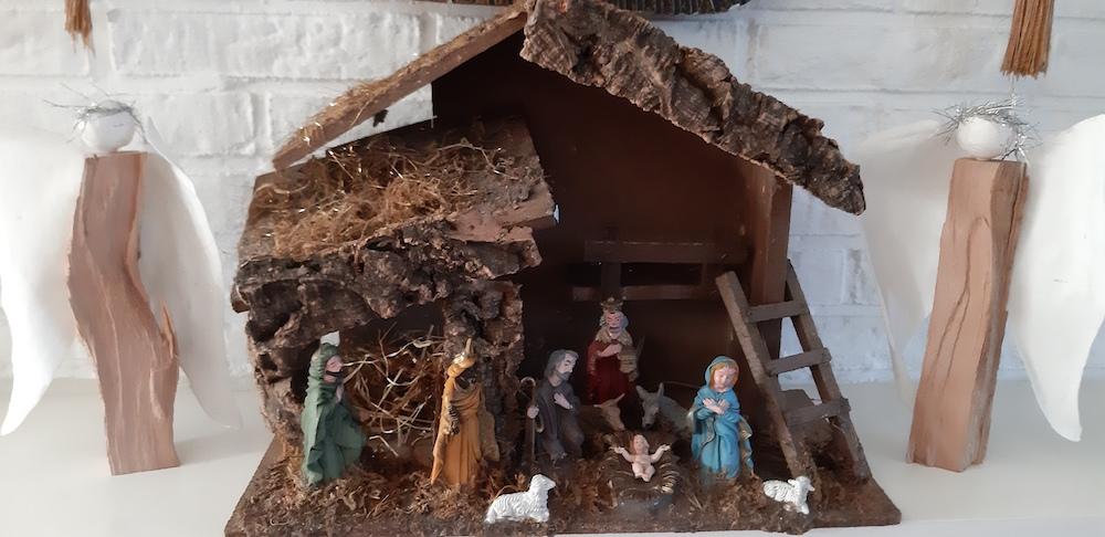 het verhaal van de kerststal van Lida